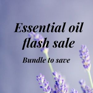 Essential oil flash sale